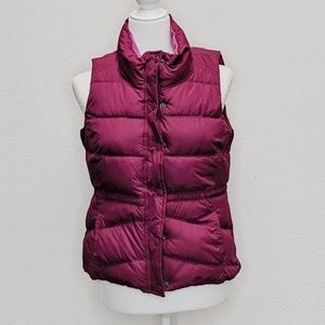Old Navy Puffer Vest Lined w/Pockets - S